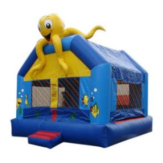 Kidwise Commercial Sea Creature Bounce House   Commercial Inflatables