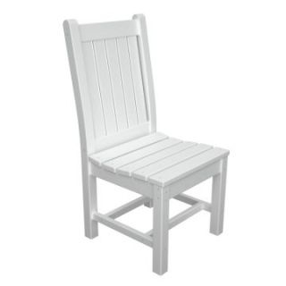 POLYWOOD® Rockford Recycled Plastic Dining Side Chair   Commercial Patio Furniture