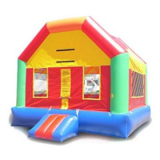 EZ Inflatables Rainbow Jumper Bounce House   Commercial Inflatables