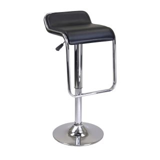 Winsome Oslo Air Lift Backless Chrome Bar Stool   Bar Stools