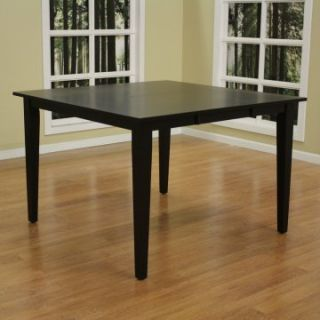 AHB Este Butterfly Counter Height Table   Black   Dining Tables
