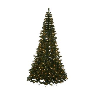 7.5 ft. Green Half Pre Lit Christmas Tree   Christmas Trees