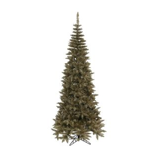 Antique Champagne Slim Fir Christmas Tree   Christmas Trees