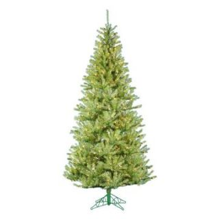 Apple Green Pre lit Christmas Tree with Metal Base   Christmas Trees