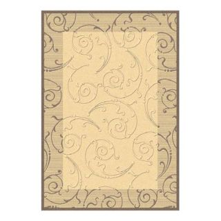 Safavieh Courtyard 2665 Indoor/Outdoor Area Rug   Linen   Area Rugs