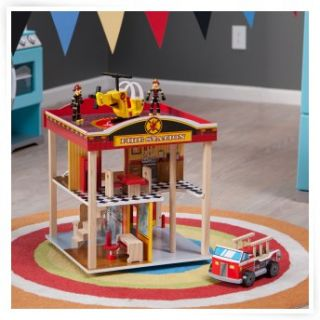 KidKraft Fire Truck Toddler Bed   Themed Toddler Beds