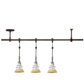 Sea Gull Saratoga Track Light Kit   3 Mini Pendants   Track Lighting