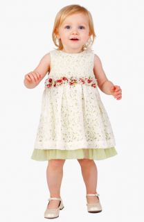 Pippa & Julie Dress & Bloomers, PLH Bows & Laces Headband & Nina Mary Jane (Infant)