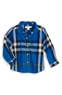 Burberry Mini Fred Woven Shirt (Baby Boys)