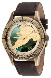 Field & Stream Molded Eagle Dial Watch, 44mm