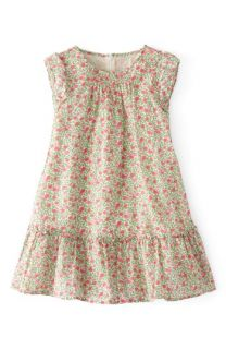 Mini Boden Floaty Ruffle Print Cap Sleeve Dress (Toddler Girls, Little Girls & Big Girls)