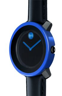 Movado Large Bold Watch & Blue Case Cover