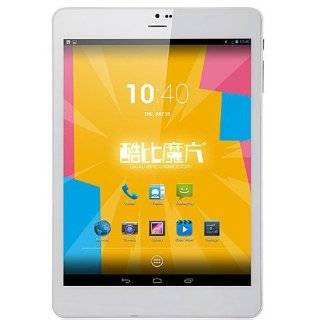 CUBE TALK 79 U55GT   7,9 Zoll IPS Schirm MTK8389 3G Quad Core Tablet Phone Android 4.2 WCDMA 3G 16GB Bluetooth GPS 5MP Dual Kamera Silber Elektronik