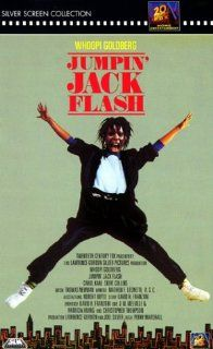 Jumpin' Jack Flash [VHS] Whoopi Goldberg, Stephen Collins, John Wood, Carol Kane, Annie Potts, Peter Michael Goetz, Jonathan Pryce, James Belushi, Roscoe Lee Browne, Garry Marshall, Jeroen Krabb�, Jon Lovitz, Tracey Ullmann, Tracy Reiner, Chino Fats W