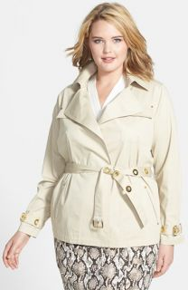MICHAEL Michael Kors Grommet Safari Jacket (Plus Size)