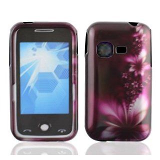 LF feather flower Designer Hard Case Cover, Lf Stylus Pen and Wiper For MetroPCS Samsung Freeform M T189N & Tracfone StraightTalk Net 10 Samsung S390G SHG S390G Cell Phones & Accessories