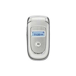 Motorola V191 Unlocked Phone with   U.S. Version with Warranty (Silver) Cell Phones & Accessories