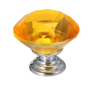 30mm Crystal Glass Cupboard Wardrobe Cabinet Door Drawer Kitchen Knobs Handle   Replacement Room Air Conditioner Knobs