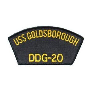 US Navy Military Iron On Patch   Navy Ship   USS Goldsborough DDG 20 Logo Clothing
