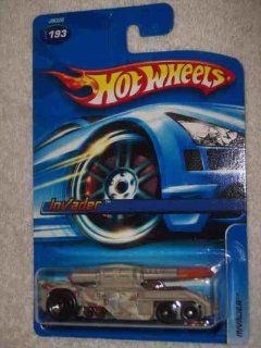 #2006 193 Invader 06 Card Collectible Collector Car Mattel Hot Wheels 164 Scale Toys & Games