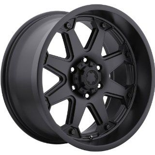 Ultra Bolt 17 Black Wheel / Rim 6x4.5 with a 20mm Offset and a 72 Hub Bore. Partnumber 198 7886B Automotive
