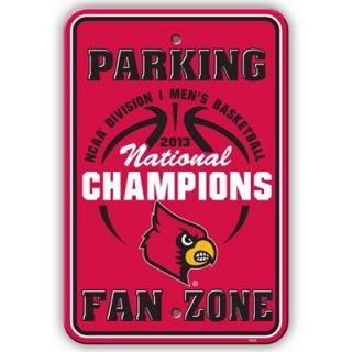 Louisville Cardinals 2013 NCAA Mens Basketball National Champions 12 x 18 Parking Sign