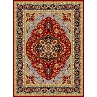 Safavieh Lyndhurst Collection Red/ Black Rug (9' x 12') Safavieh 7x9   10x14 Rugs