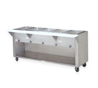 Supreme Metal SW 2E 208/240 BS Hot Food Table w/ 2 Wells, Infinite, Enclosed Base, 208/240 V, Each Kitchen & Dining