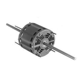 "Fasco D772 5.6"" Frame Open Ventilated Permanent Split Capacitor Window A/C Condenser Fan and Direct Drive Blower Motor with Sleeve Bearing, 1/2 1/3 1/4HP, 1625rpm, 208 230V, 60Hz, 3.8 2.8 2.1 amps, 4 3/4"" Motor Length"