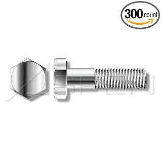"(300pcs per box) 1/4"" 20X5/8 Hex Head Cap Screw STAINLESS STEEL 304 Ships FREE in USA"