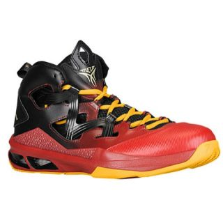 Jordan Melo M9   Mens   Basketball   Shoes   Black/Gym Red/University Gold/Metallic Gold Star