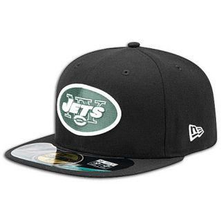 New Era NFL 59Fifty Sideline Cap   Mens   Football   Accessories   New York Jets   Black