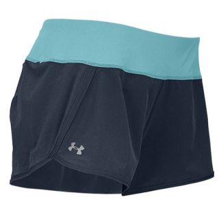 Under Armour Heatgear 3 Stretch Woven Shorts   Womens   Running   Clothing   Lead/Tobago