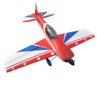 Skyangel CAP 232 RC Airplane Kit   Red/Blue   without ESC and Servos Toys & Games