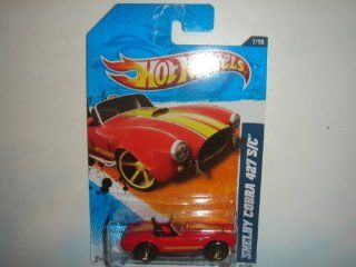2011 Hot Wheels KMart Exclusive Shelby Cobra 427 S/C Red #107/244 Toys & Games