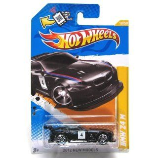 Hot Wheels 2012, BMW Z4 M (BLACK), 2012 new models, 18/247. 164 Scale. Toys & Games