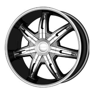 "KMC Wheels Surge KM6655 Matte Black Finish Wheel with Machined Accents (20x9""/5x115mm) Automotive"