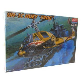 "Academy   UH 1C Huey ""Frog"" Model   1/35th Scale Toys & Games"