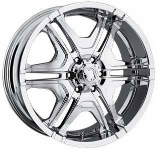 ULTRA WHEELS 2622282C Wheels various models 22 X 9.5 261/262 Series Style chrome Automotive