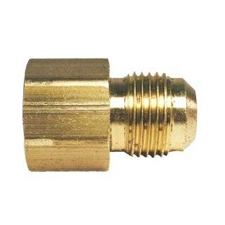 Watts A 273 Brass Flare x Female Pipe Adapter for Gas, 5 Pack   Faucet Aerators And Adapters