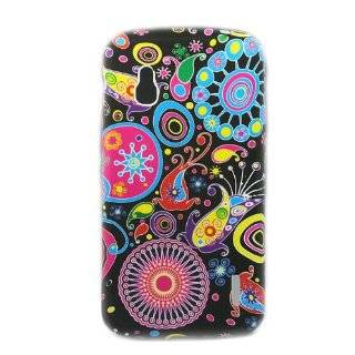 "ivencase Colorful 282 Flower Gel Soft Case Cover for LG Google Nexus 4 Smart Phone E960 + One phone sticker + One ""ivencase"" Anti dust Plug Stopper Cell Phones & Accessories"