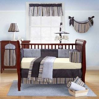 Daniel 4 Piece Baby Crib Bedding Set with Bumper by Bananafish  Baby