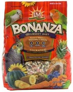"Brand New LM ANIMAL FARMS   BONANZA COCKATIEL 4LB ""BIRD PRODUCTS   BIRD   FOOD SEEDS & PELLETS"""