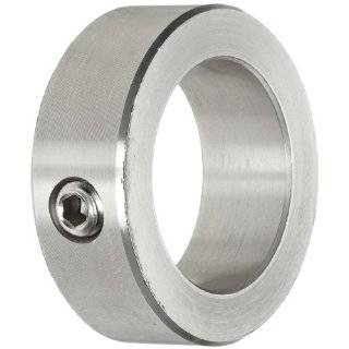 Climax Metal Shaft Collar, Set Screw Type, Stainless Steel, 303 9/16 Bore x 1 OD