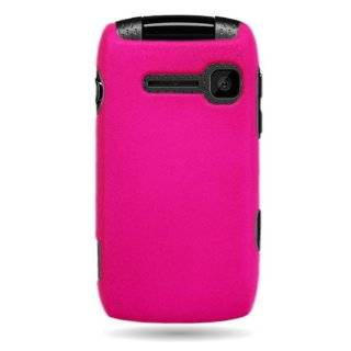 CoverON� Matte Snap On HOT PINK RUBBERIZED Hard Case Cover For KYOCERA S2150 COAST / KONA (BOOST MOBILE , CRICKET) With PRY Triangle Case Removal Tool [WCJ825] Cell Phones & Accessories