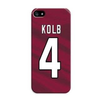 Arizona Cardinals Custom Made NFL National Football Team Logo Kolb Iphone 5c Hard Case  Sports Fan Cell Phone Accessories  Sports & Outdoors