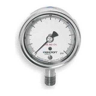 Ashcroft Duralife Type 1009SW Stainless Steel Case Pressure Gauge