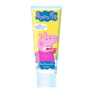 Peppa Pig Toothpaste Bubble Gum Flavour 75Ml Health & Personal Care