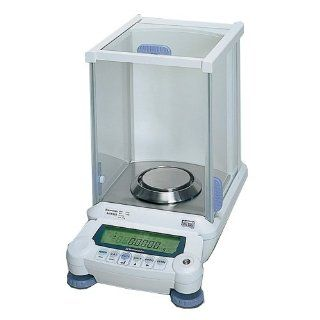 Shimadzu UniBloc Series AUX Single Range Analytical Balance with Internal Calibration, 0.1mg Display Science Lab Analytical Balances