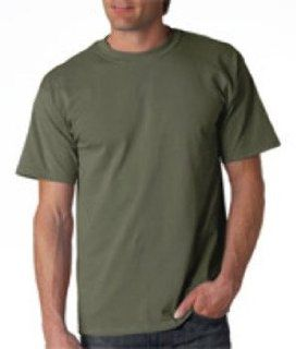 Gildan Adult T Shirt Military Green 2Xl